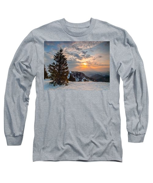 Fresh Morning Long Sleeve T-Shirt by Davorin Mance