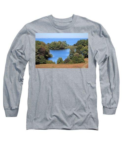 Fresh Pond At Caumsett Long Sleeve T-Shirt