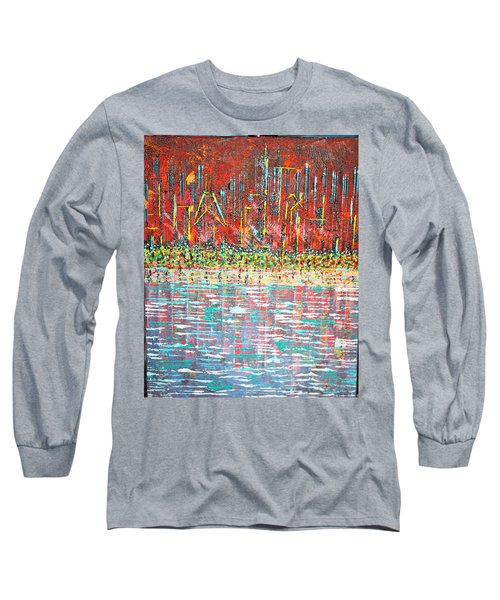 Friday At The Beach - Sold Long Sleeve T-Shirt by George Riney