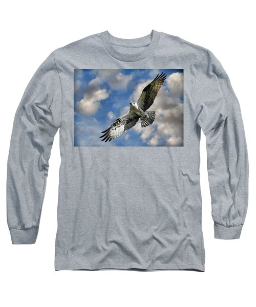 From The Clouds Long Sleeve T-Shirt by Steve McKinzie