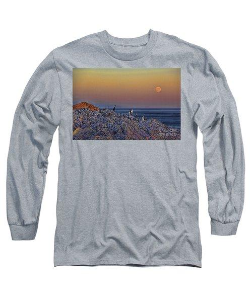 Full Moon Gathering Of Capricorn Long Sleeve T-Shirt