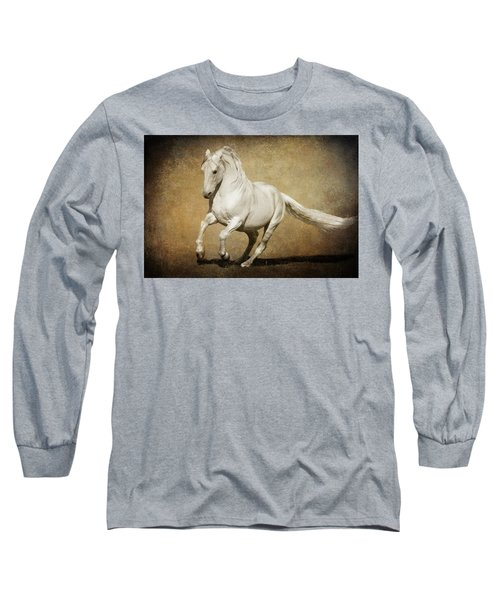 Full Steam Ahead Long Sleeve T-Shirt by Wes and Dotty Weber