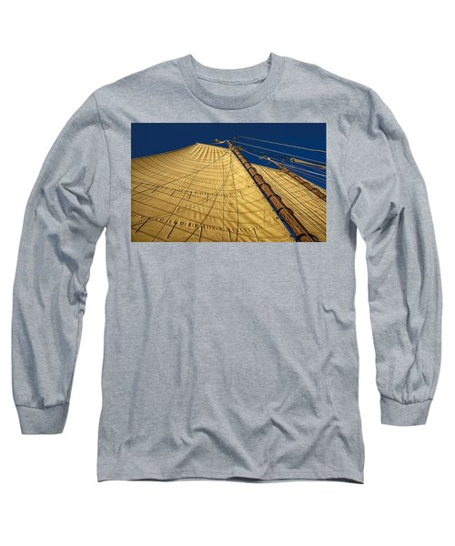 Gaff Rigged Mainsail Long Sleeve T-Shirt