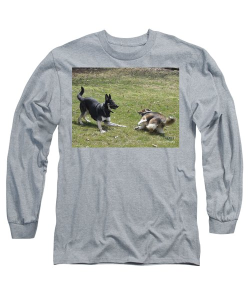 Long Sleeve T-Shirt featuring the photograph Game Over Baby by Luther Fine Art