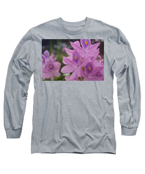 Long Sleeve T-Shirt featuring the photograph Garden Is Watching by Miguel Winterpacht