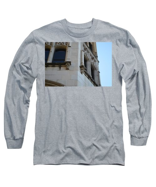 Long Sleeve T-Shirt featuring the photograph Gargoyles by Shawn Marlow