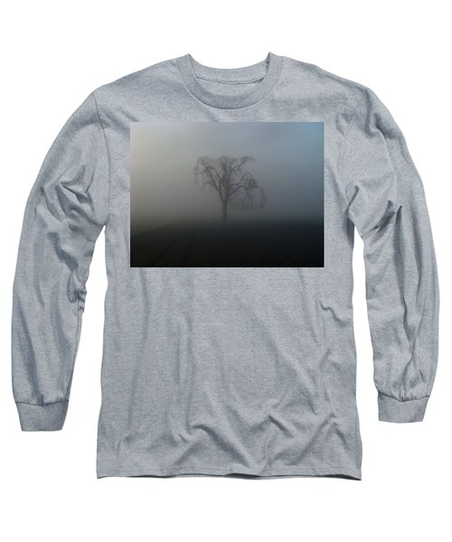 Garry Oak In Fog Long Sleeve T-Shirt