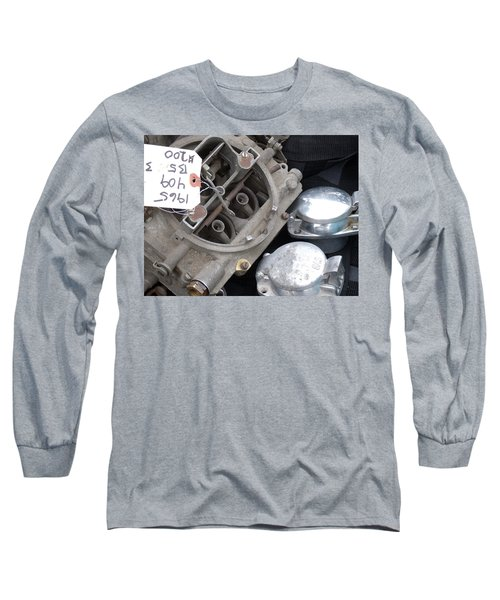 Gas In Long Sleeve T-Shirt