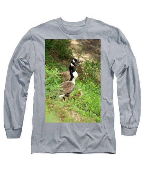 Geese And Gosling Long Sleeve T-Shirt