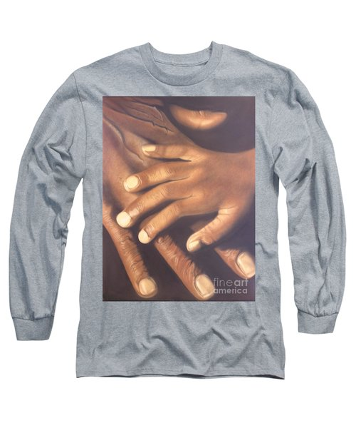 Long Sleeve T-Shirt featuring the pastel Generation To Generation by Wil Golden