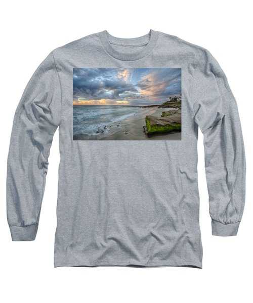 Gentle Sunset Long Sleeve T-Shirt by Peter Tellone