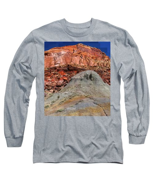 Geology Triptych - One Long Sleeve T-Shirt