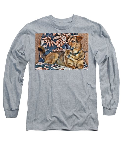 Gerry And The Lounge Chair Long Sleeve T-Shirt