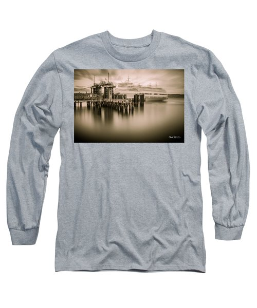 Ghost Ferry Long Sleeve T-Shirt by Charlie Duncan