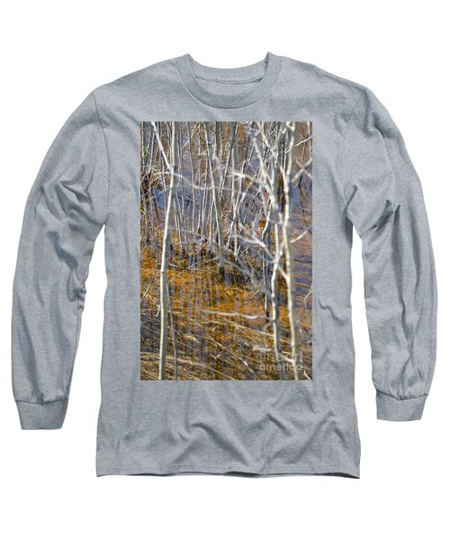 Long Sleeve T-Shirt featuring the photograph Ghost Willows by Brian Boyle