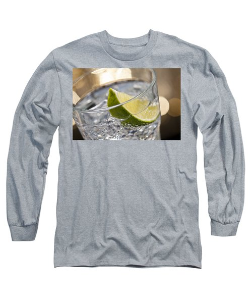 Gin Tonic Cocktail Long Sleeve T-Shirt by Ulrich Schade