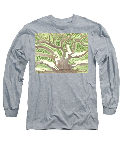 Girls In A Tree Long Sleeve T-Shirt