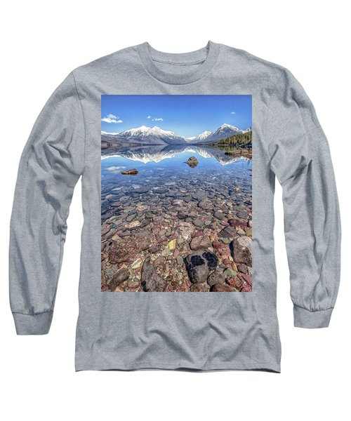 Glacial Lake Mcdonald Long Sleeve T-Shirt