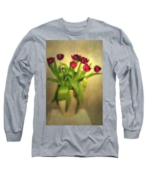 Glowing Tulips Long Sleeve T-Shirt