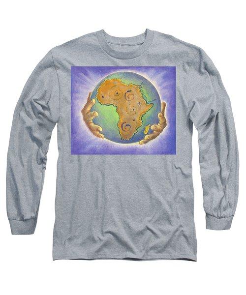 God Bless Africa Long Sleeve T-Shirt