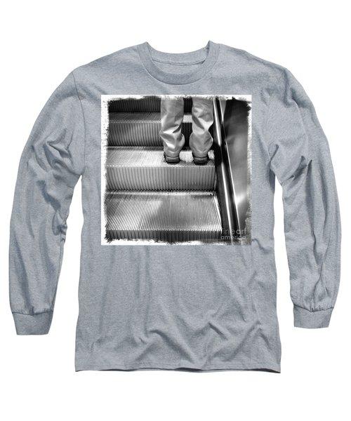 Long Sleeve T-Shirt featuring the photograph Going Up by James Aiken