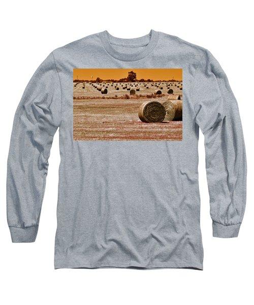 Golden Country Long Sleeve T-Shirt
