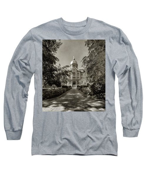 Golden Dome At Notre Dame University Long Sleeve T-Shirt