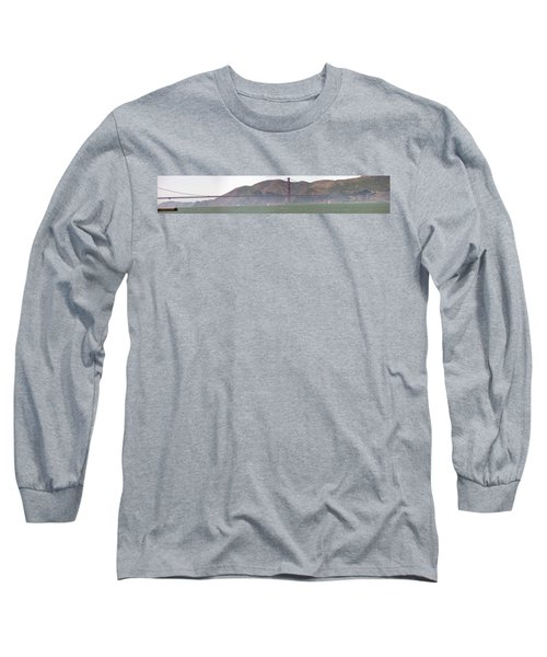 Golden Gate Bridge Panorama Long Sleeve T-Shirt