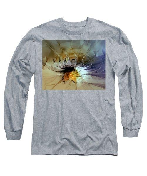 Golden Lily Long Sleeve T-Shirt