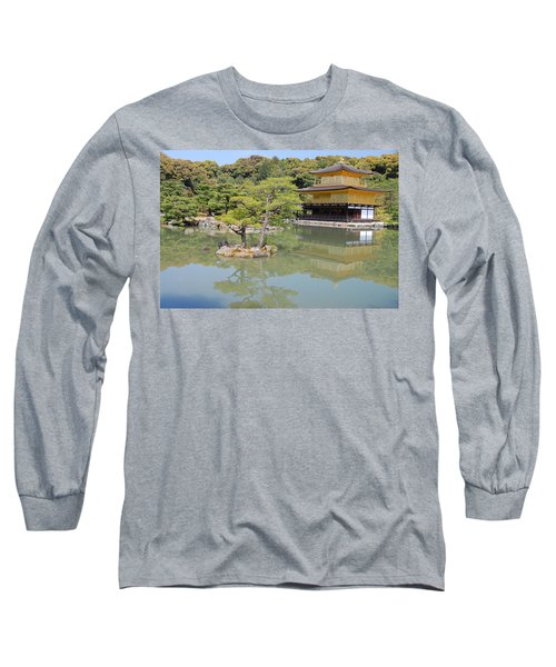 Golden Pavilion Long Sleeve T-Shirt by Jonah  Anderson