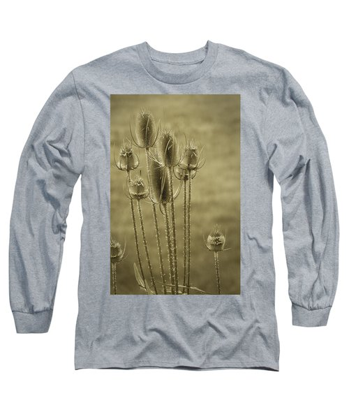 Golden Thistles Long Sleeve T-Shirt