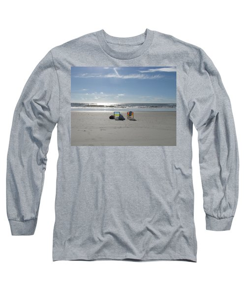 Gone For A Walk Long Sleeve T-Shirt