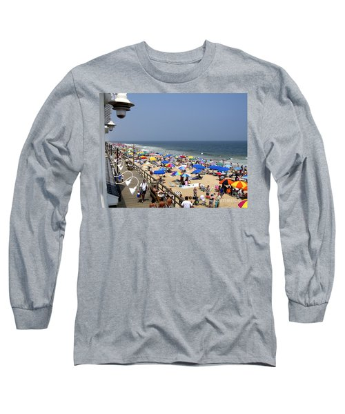 Good Beach Day At Bethany Beach In Delaware Long Sleeve T-Shirt