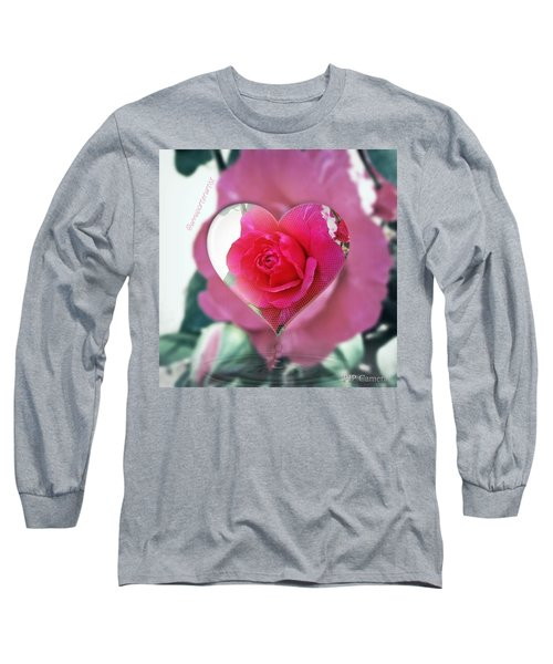 Valentine's Day Rose Long Sleeve T-Shirt