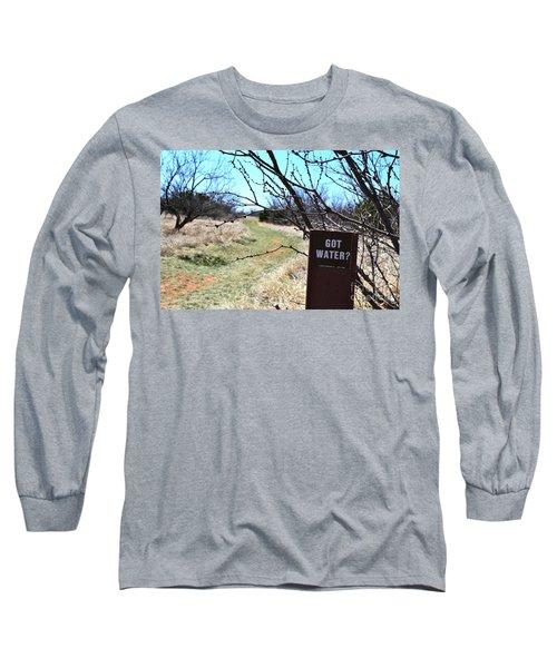 Got Water Long Sleeve T-Shirt