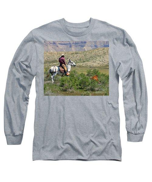 Gotcha' Long Sleeve T-Shirt by Bob Hislop