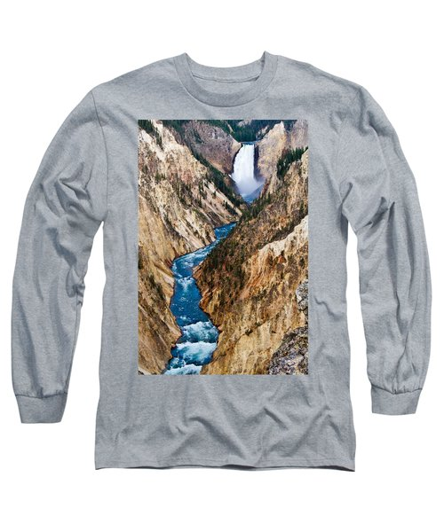 Grand Canyon Of Yellowstone Long Sleeve T-Shirt