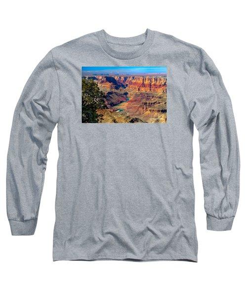 Grand Canyon Sunset Long Sleeve T-Shirt by Robert Bales