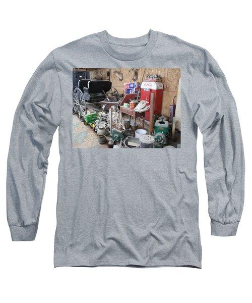 Grandpop's Garage Long Sleeve T-Shirt