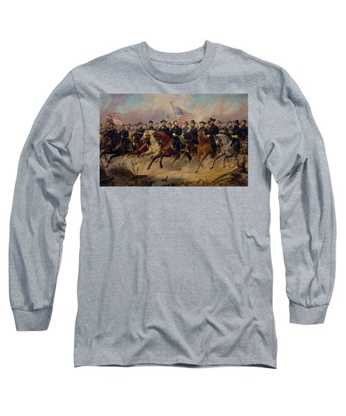 Grant And His Generals Long Sleeve T-Shirt