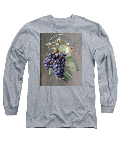 Grapes Long Sleeve T-Shirt by Enzie Shahmiri