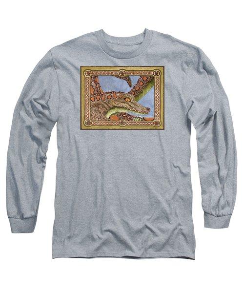 Great Grandmother Combped Long Sleeve T-Shirt by Lynda Hoffman-Snodgrass