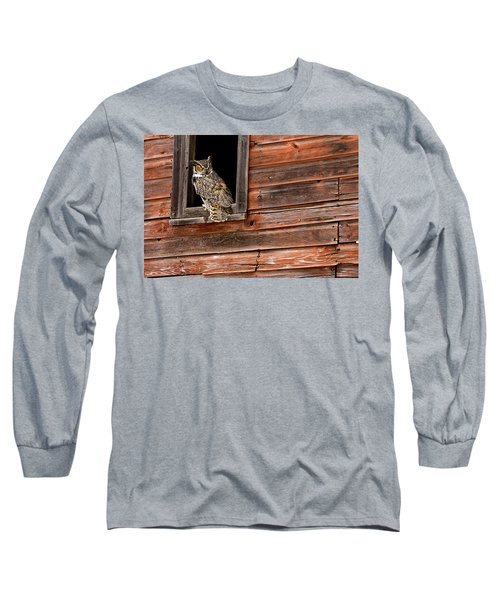 Great Horned Long Sleeve T-Shirt