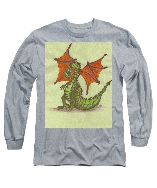 Green Dragon Long Sleeve T-Shirt