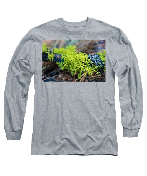Green Lichen Long Sleeve T-Shirt