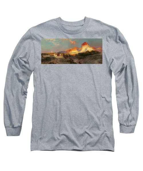 Green River Cliffs Wyoming Long Sleeve T-Shirt