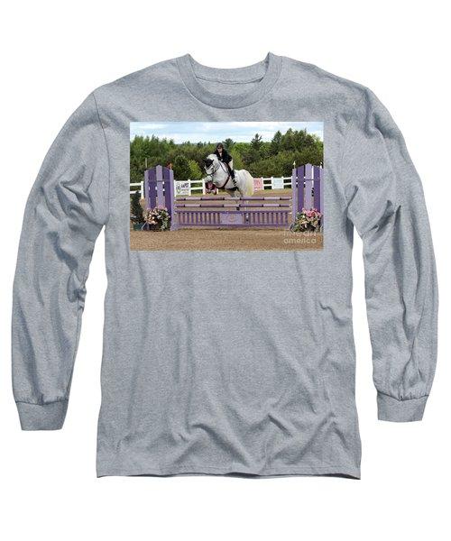 Grey Jumper Long Sleeve T-Shirt