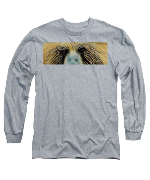 Grizzly Eyes Long Sleeve T-Shirt
