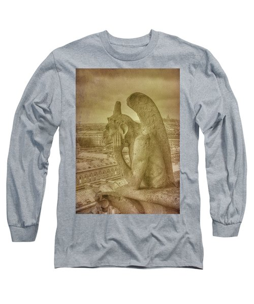 Grotesque From Notre Dame Long Sleeve T-Shirt