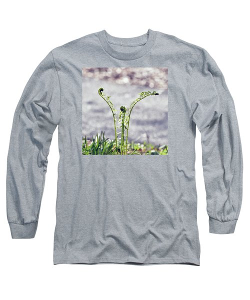 Growing  Long Sleeve T-Shirt by Kerri Farley